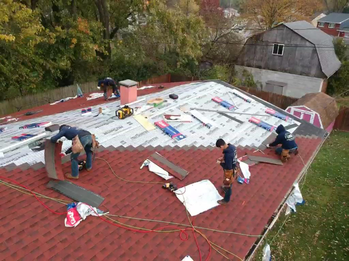 Roofing Project near Bowie Maryland MD