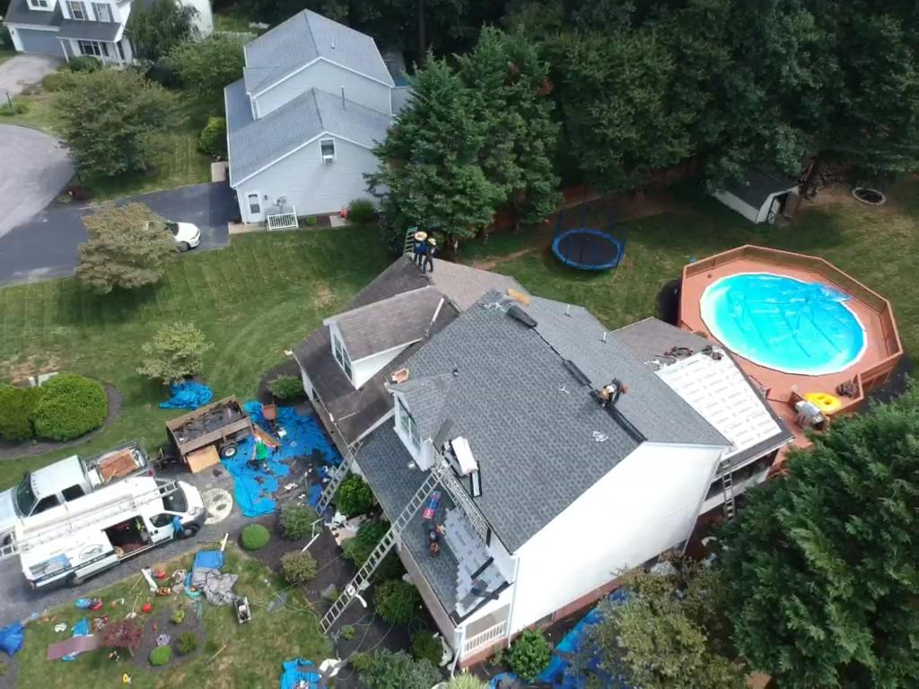 Roofing Project near Annapolis Maryland MD