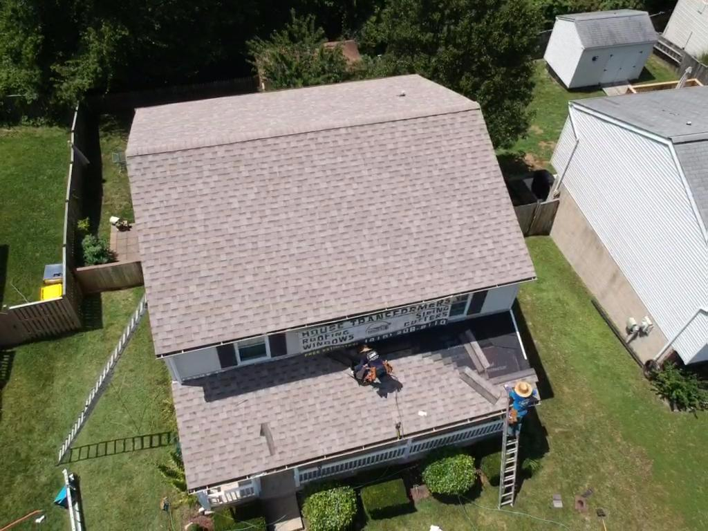 Roofing Project near Pasadena Maryland MD