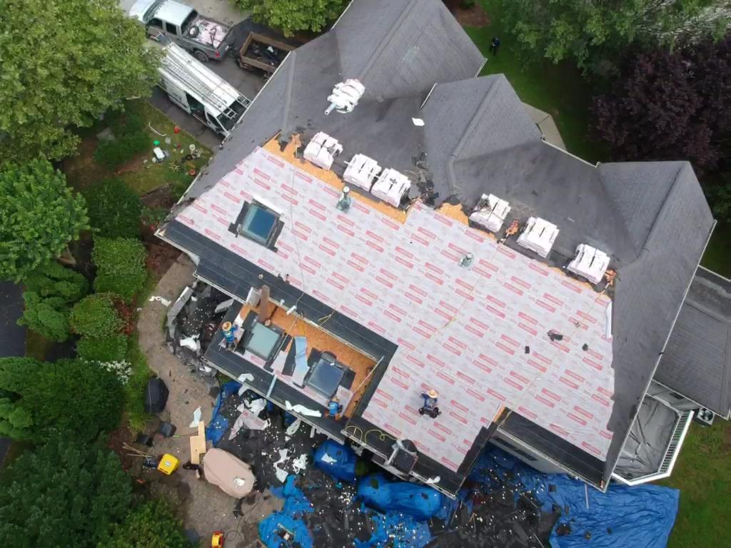 Roofing Project near Edgewater Maryland MD