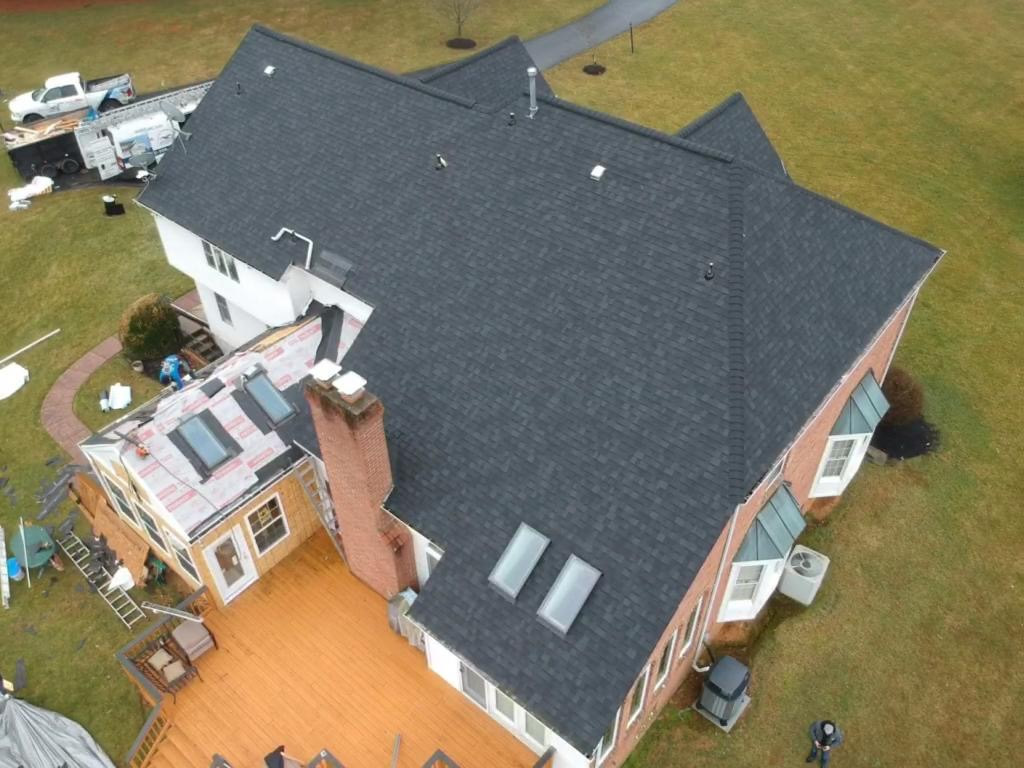 Roofing Project near Ellicott City MD