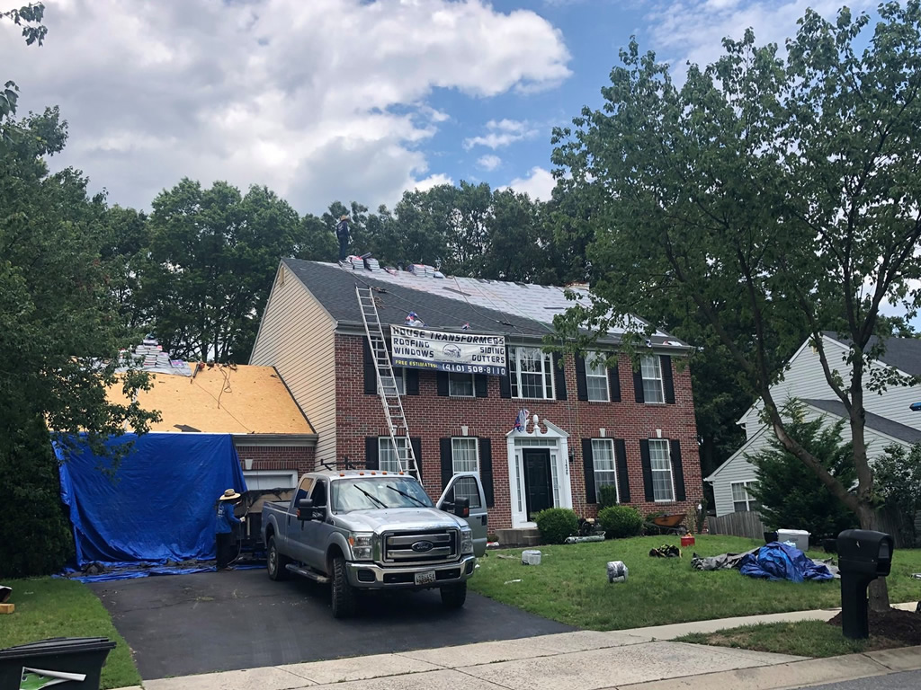 Roofing Project near Severna MD